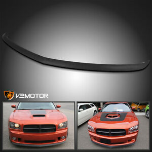 For 2006 2010 Dodge Charger Replacement Factory Style Front Bumper Lip Spoiler