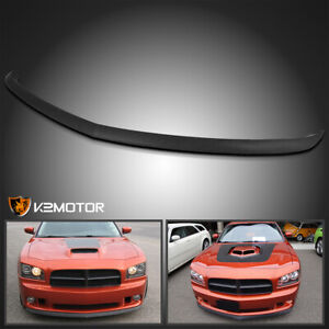 2006 2010 Dodge Charger Replacement Factory Style Abs Front Bumper Lip Spoiler