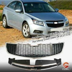 Front Upper Lower Grille Radiator Airflow For Chevy Cruze 2009 14 Ls Lt Ltz