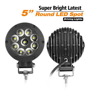 9 in 320w Cree Led Round Driving Light Spot Beam Work Headlight Bumper Off Road