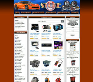 Car Parts And Accessories Website Business For Sale Free Domain Name