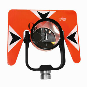 Red Single Prism With Soft Bag For Nikon Sokkia Topcon South Total Station
