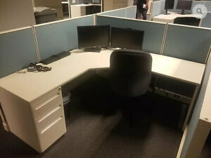 Used Office Cubicles Herman Miller Ao2 6x6 Cubicles