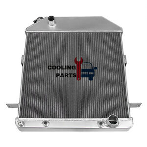 3 Rows Aluminum Radiator 39 40 41 Ford Deluxe 1939 1940 Mercury Chevy V8 Engine