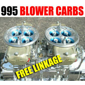 King Demon 995 9627020bc Gas Supercharger Blower Carbs With Lines Free Linkage