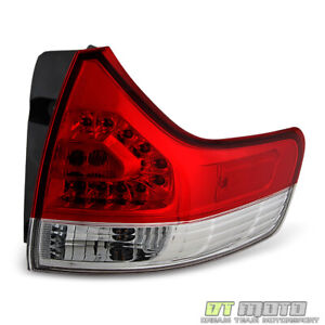 For 2011 2014 Toyota Sienna Outer Replacement Tail Light Lamp Rh Passenger Side