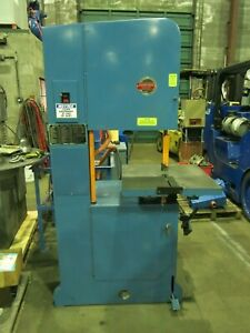Roll in Journeyman 20 Vertical Metal Cutting Bandsaw