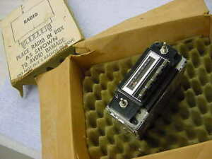 Chevrolet Buick 1977 Models Nos Am 8 Track Radio