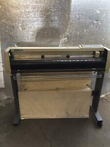 Graphtec Cutting Pro Fc4100 100 Plus Cutter Fc4100 30 Used Working