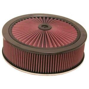 K N 66 3080 X Stream Airflow Air Filter Assembly 14 X 4 Dominator