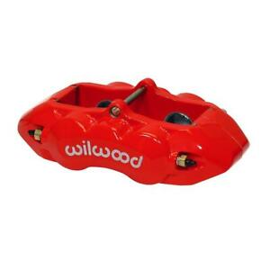 Wilwood 120 10526 rd D8 4 Rear Caliper 1 38 Pistons 1 25 Disc Red