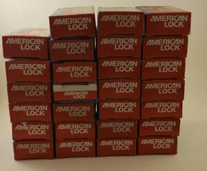 American Lock A3900swo Coreless Keyed Padlock 1 1 8 H Shackle