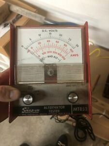 Snap On Tools Alternator Tester Model Number Mt852 Tools Collect Collectibles