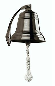 Brass Ship S Bell 8 Reproduction