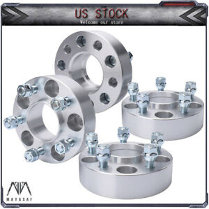 2 4pcs Hubcentric Wheel Spacers 1 5 5x4 5 5x114 3 For Ford Mustang Lincoln