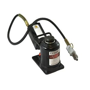 Ame Titan 20 Ton Air Hydraulic Bottle Jack 14461
