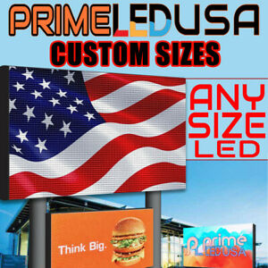 6ft X 3ft Double Sided P5 Programmable Full Color Outdoor Digital Led Sign