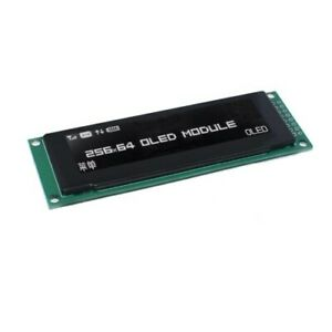 White Oled Display 2 8 256 64 25664 Dots Graphic Lcd Module Display Screen