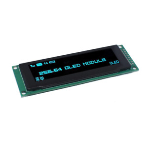 Blue Oled Display 2 8 256 64 25664 Dots Graphic Lcd Module Display Screen