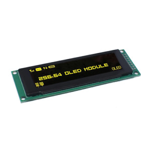 Yellow Oled Display 2 8 256 64 25664 Dots Graphic Lcd Module Display Screen