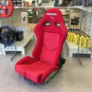 Bride Style Gias Red Gradation Red Frp Vios Low Max Racing Seat Single Large