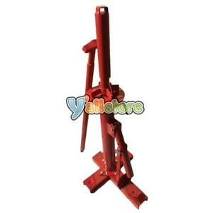 New Manual Portable Hand Tire Changer Bead Breaker Tool Red Universal Tire Tool