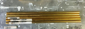 Shifter Rod 16 In Long 3 8 24 Right Left Hand Threads Aluminum Lot Of 4