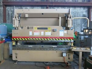 Cincinnati 90cb8 Cnc Hydraulic Press Brake 10 Oal