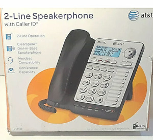 At t Ml17928 2 Line Office Phone Caller Id Speaker Conference Hs Jack New Op Box