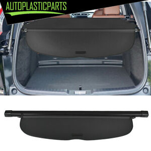 Retractable Cargo Cover Black Security Trunk Shade Fit For Honda Crv 2017 2019