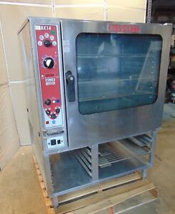 Blodgett Bx14e Commercial Gas Oven 3 Phase Combination Over steamer S1264
