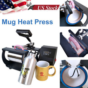 Mug Heat Press Sublimation Digital Machine For 6 11oz Diy Coffee Mug Cup Gift Us