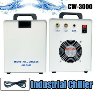 Cw 3000 Industrial Water Chiller For Cnc Laser Engraver Engraving Machine 110v