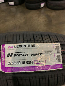 4 New 225 55 18 Nexen N Priz Rh7 Tires