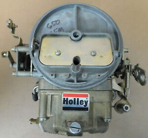 Holley Nos 0 6425c 2bbl Carb 650cfm Manual Choke Sq Bore Flange Dated 1997