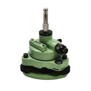 Green Tribrach adapter With Optical Plummet Swiss style For Total Station Prism