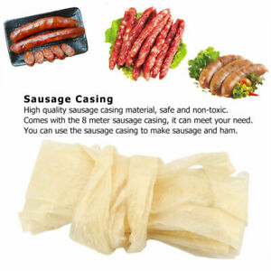 Natural Sausage Casing Skins Collagen Casings Homemade For Smoked Fresh Hot Dog