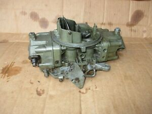 Holley Ford 429 Carburetor Carb 6361 Marine Boat D1ff 9510 Ta Dated 0856