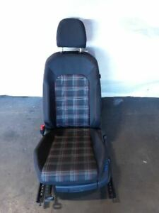 15 17 Vw Golf Gti Black red Driver Left Front Seat Complete