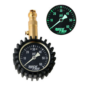 Air Tire Pressure Gauge high Accuracy Mechanical up To 60 Psi Glow Dial