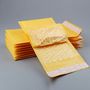 Wholesale Bulk Bubble Kraft Mailers Envelopes Padded Shipping Bags Self seal