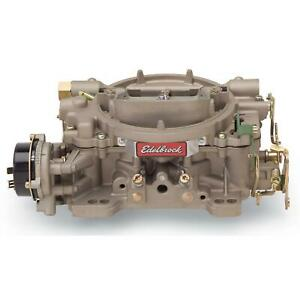 Edelbrock 1410 Performer Series 4 barrel Carburetor 750 Cfm