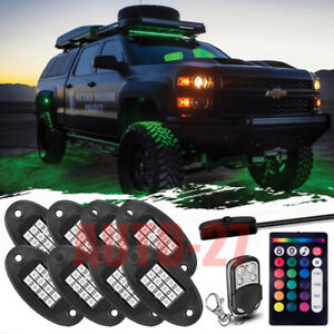 Body Glow Kit Led Lighting Underbody Pods For Club Car Ezgo Yamaha Golf Cart
