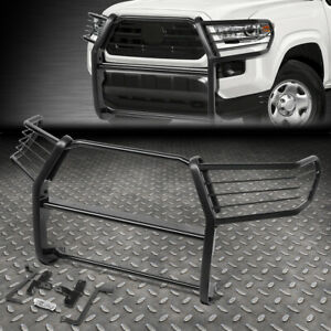 For 16 19 Toyota Tacoma Powdercoated Steel Front Bumper Brush Grille Guard Frame