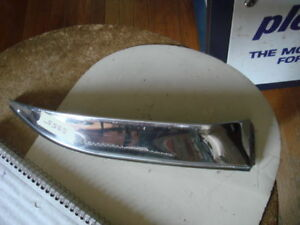 Vintage 60s Chevy Stainless Steel Vent Shade New Gm