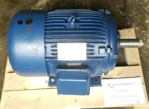 15 Hp Electric Motor 284t 3 Phase 1175 Rpm Premium Efficient Severe Duty New