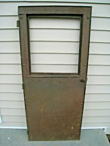 Original Ford Model T Era Panel Or Delivery Truck Door With Sliding Window Tt