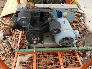 Ingersoll Rand T30 Air Compressor 3 Phase 25 Hp