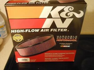 New K N Air Filter K N Air Filter Element Cleaner Washable Element 14 X 4 Race