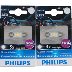 Philips License Plate Light Bulb For Indian Chief Dark Horse Chief Vintage Zw